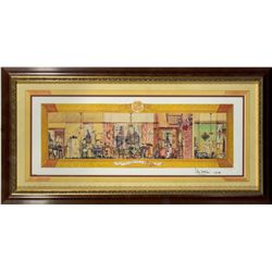 "Limited Edition Sam McKim Signed ""The Carousel of Progress"" Print"