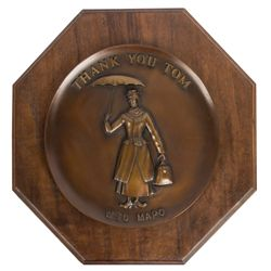 Mary Poppins WED MAPO Appreciation Plaque