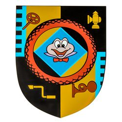 Limited Edition Disneyland Mr. Toad's Wild Ride Park Attraction Sign
