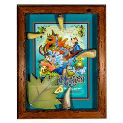 Original Thorns & Leaf from Splash Mountain Ride Attraction at Disneyland