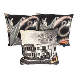 Set of 3 Disney Mary Blair Cinderella & Mickey Pillows