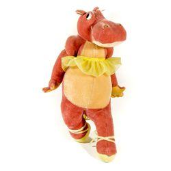 Hyacinth Hippo Steiff Doll from Disney's Fantasia 2000