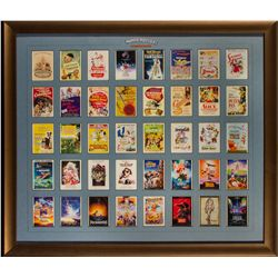 Collection of Disney Animated Features Posters Trading Cards