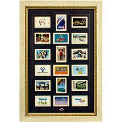 Set of 18 Disney Magic Cruise Trading Cards