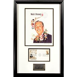 Walt Disney Limited Edition Tribute Portrait & 1968 First Day Issue