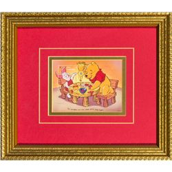 Winnie the Pooh Christmas Cookies Limited Edition Collector Stamp 1996