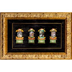 Set of 4 Haunted Mansion Stretching Portrait Pins