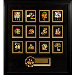 Official Disneyana 2001 Convention Artist Pins Set