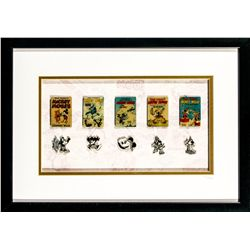 Disney's Mickey Mouse Film Shorts Collectors Pin Set