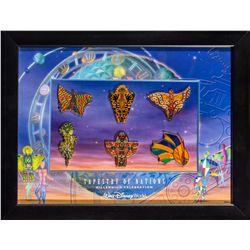 Walt Disney World Tapestry of Nations Millenium Celebration Collectors Pin Set