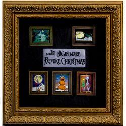 Set of 5 Nightmare Before Christmas Pin Set