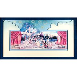 Disneyland  45 Years of Magic  Commemorative Ticket