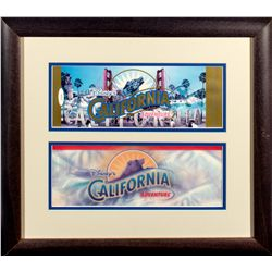 Disney's California Adventure 2001 Opening Commemorative Pass