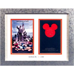 Limited Edition Walt Disney World  100 Years of Magic  Commemorative Brochure