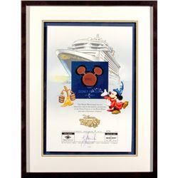 Disney Fantasy Cruise Ship Mickey Steel Cut-Out