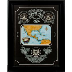 Disney Cruise Line Panama Canal Crossing Collector Coin Set