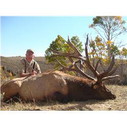 2015 Utah Premium Monroe Elk Conservation Permit