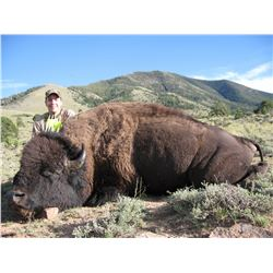 2015 Utah Henry Mountain Bison Conservation Permit Hunters Choice (early)