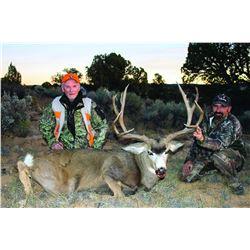 2015 San Juan Muzzleloader Mule Deer Conservation Permit