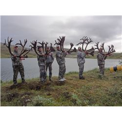 10-Day Trophy Mountain Caribou at Arctic Red Outfitters for (2) Hunters and (1) Veteran – Richard Ra
