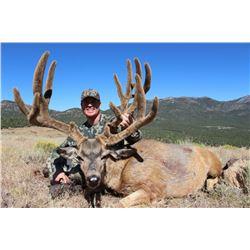 2015 Nevada Heritage Statewide Mule Deer