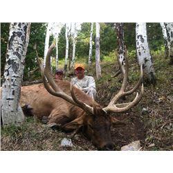 2015 Utah San Juan Premium Elk Conservation Permit