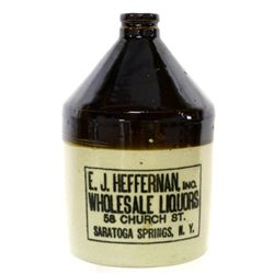 EJ Hefferman Wholesale Liquors Jug