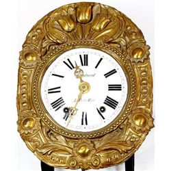 Beautiful 19th c wall bracket clock