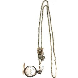 Non working Elgin pocket watch with impressive