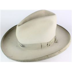 Cowgirl Stetson felt hat with rolled brim