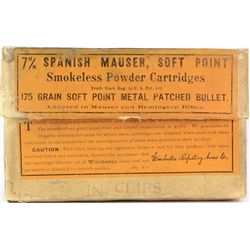Winchester 7mm Spanish Mauser Smokeless