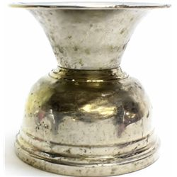 Old saloon style spittoon with weighted bottom