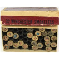 1913-1920 Winchester cartridge box .32 W.C.F.