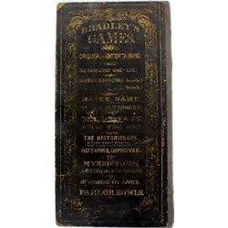 "1866 pat'd board game ""The Checkered Game"