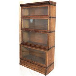 Step back barrister bookcase 4 stack,
