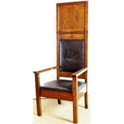 Original Deacons chair with original oak