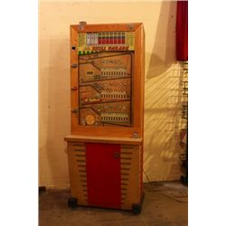 Vintage Bally Skill Parade 5cent machine