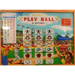 Vintage Play Ball 10cents machine by Auto Bell