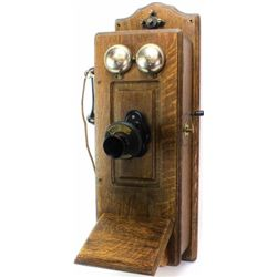 Antique wall phone by Monarch, Ft. Dodge IA