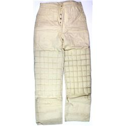 NOS Miners overalls in white duck cloth