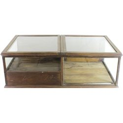 Great antique cigar store display case