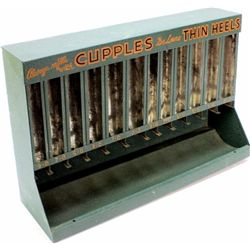 Metal counter top display for Cupples Thin Heels,