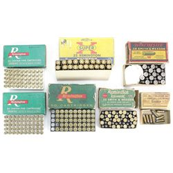 Collection of vintage ammo includes full Western