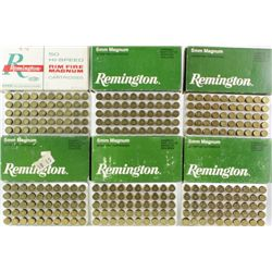 6 full boxes 5mm Magnum ammo, earlier white