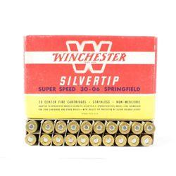 Winchester Silvertip 30-06 Springfield super speed