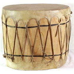 Large contemporary Indian drum