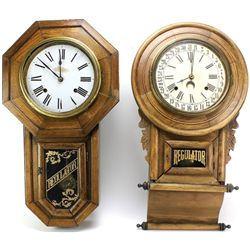 Collection of 2 regular clocks for restoration