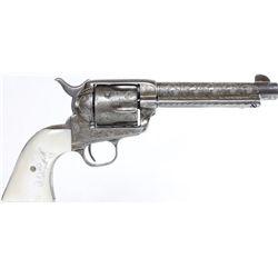 Colt SAA 44-40 cal. SN 5XXXX black powder frame