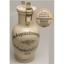 Los Angeles Brewing Co. advertising stein