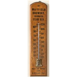 Mayfield Brewery thermometer